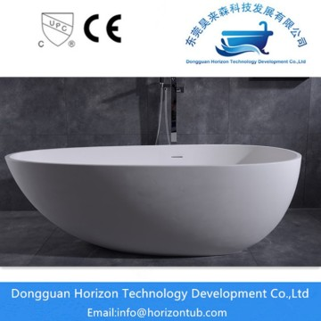 Horizon artificial stone bathtub