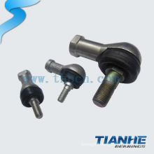 Self-lubricating rod end ball joint bearings