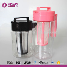 Venda quente de plástico BPA Free Water Brew cafeteira