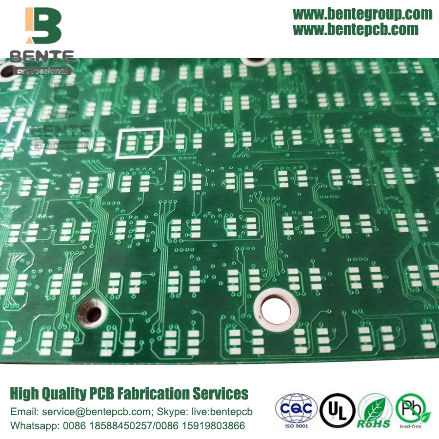 Immersion Tin 2 Camadas FR4 PCB Standard PCB Tapered Holes