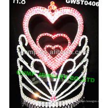 Día de fiesta haert tiara -GWST0406