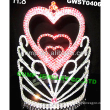 holiday day haert tiara -GWST0406