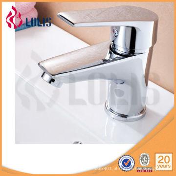 Faucet de lavatório com alça de liga de zinco (B0005-F)