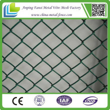 Powder Coated High Quality Portable Chain Link Fence for Construction