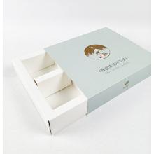 Slide Box Boîte de chocolat cadeau de qualité alimentaire personnalisée