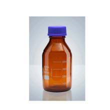 Frasco de reagente com tampa de rosca azul