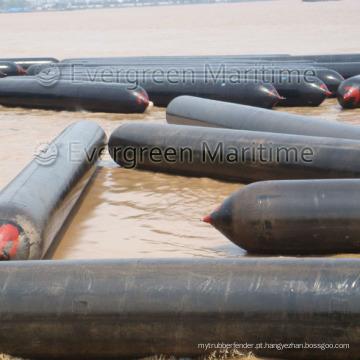 Airbags para lançamento de navios e upslip