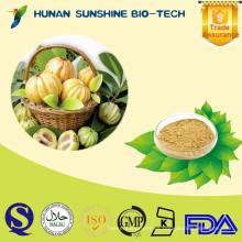 Suplementos dietéticos naturales Perder peso en polvo Extracto de Garcinia Cambogia 50% HCA