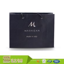 Fabrik-Großhandelslogo-Druck-Gewohnheit behandelte Einzelhandelsgeschäft-farbige Papierwaren-Taschen für Stoff