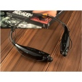 sports bluetooth in ear earphone neckband black color