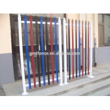 Welded Steel Picket Fence / Spear Top Wrought Iron Fence