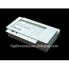 insignes d'identité nouvelle photo création entreprise dirigée porte-nom lumineux LED clignotant badges affiche
