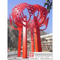 Outdoor Love Stainless Steel Sculpture