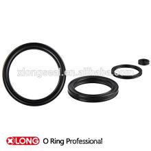 Холодное черное мягкое уплотнение круглого резинового кольца