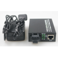 Gigabit Single Mode Lc Port Fiber To UTP Media Converter