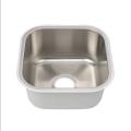 Fregadero de barra de tazón simple de acero inoxidable