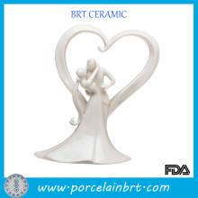 Décoration spéciale de mariage en porcelaine commémorative