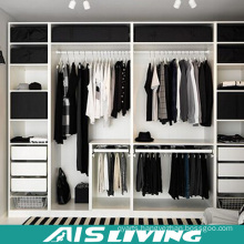 Modern Walk in Melamine Board Wardrobe Cliset Design (AIS-W001)