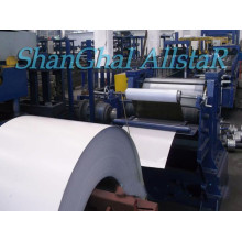 Embossed steel sheet roll forming machine from Shanghai