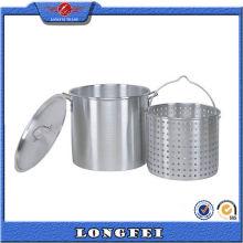 China Productos de venta superior Olla de cocción de aluminio grande