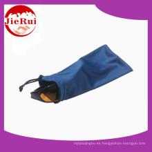 Saco de gamuza de microfibra de promoción de gran precio para joyas y gafas