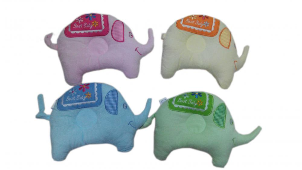 Eco- Friendly Elephant Shape Baby Pillow