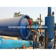 Prix raisonnable avec un bon service en Chine usine de pyrolyse continue pyrolyse usine d'huile 20T / D.