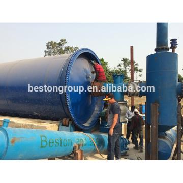 La sécurité environnementale 10T / D gaspillent le plastique à l'huile petite machine