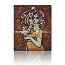 Impression photo en vrac / Peinture artisanale artisanale / Peinture Lady célèbre
