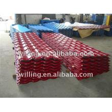Color Steel Roofing Tile / Color/Galvanized corrugated roofing sheet/Metal tile sheet