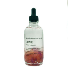 Top Sales OEM Label Massage Oil 100% Pure Natural Rose Petal Essential Oli for Face Body and Hair