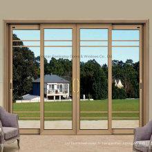 Feelingtop Fenêtre et porte coulissante en aluminium personnalisée de haute qualité (FT-W80 / 126)
