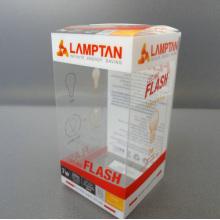 Boîte-cadeau de PVC d'impression claire qui respecte l'environnement (boîte pliable)