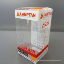Eco-Friendly Impresión transparente Caja de regalo de PVC (caja plegable)