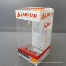Eco-Friendly Clear Printing PVC Gift Box (foldable box)