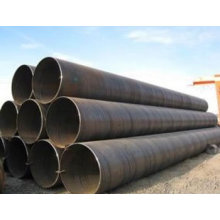 Spiral welded steel pipe with large diameter