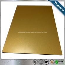 PVDF Color Coated Aluminium Composite Panel für Gebäude