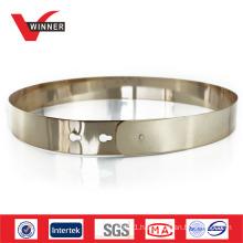 fashion women gold metal belt