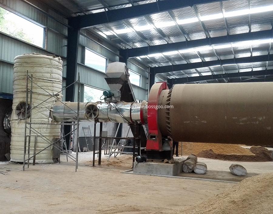Wood Sawdust Drying Equipment