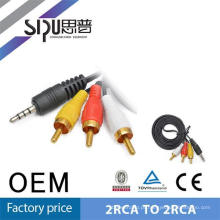 SIPU Factory supply good price 3 rca cable av cable mini din cable