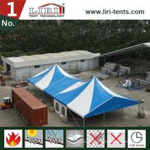 Cadre hexagonal de fabricant de tente de partie commerciale de 20X40m