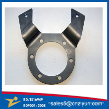 Conector feito sob encomenda da chapa metálica da maquinaria com certificado do ISO