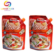 Spout+Top+Eco+Friendly+Bag+Doypack+Sauce+Pouch