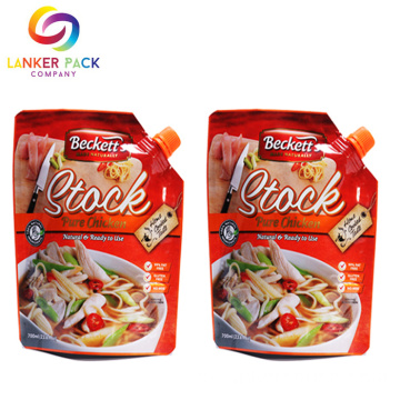 Bico Top Eco Friendly Bag Doypack Sauce Bolsa