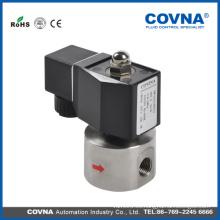 """Válvula solenoide de cierre normal de pistón de alta presión de 12V, 24V AC 24V, 12V, 240V / 60Hz 11V, 220V / 50Hz agua 1/2 """""""