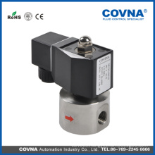 High pressure pilot operated piston normal close solenoid valve DC 12V, 24V AC 24V, 12V, 240V/60Hz 11V, 220V/50Hz water 1/2""