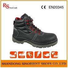 Chaussures de travail en cuir, Chaussures de sécurité confortables, Chaussures de sécurité en acier inoxydable RS012