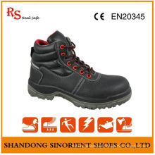 Leather Work Shoes, Comfortable Safety Shoes, Steel Toe Safety Shoes RS012