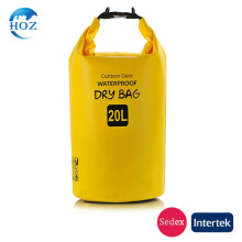 Outdoor pvc waterproof dry bag waterproof poucn grass camping boating swimming climing sailing lightbeach bag for sports