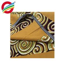 Tissu imprimé ciré résistant à la déchirure africain kente à vendre